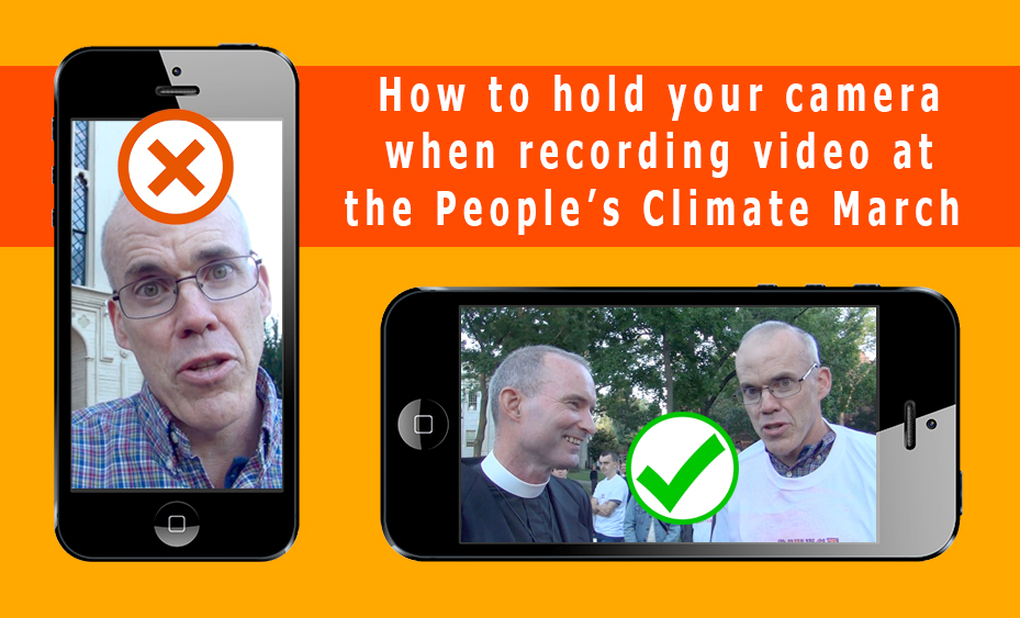 Mobile Video Tips for the Peoples Climate March
