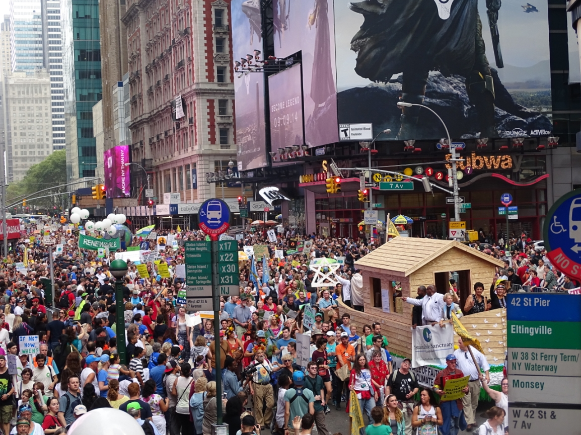 Massive Faith Contingent Calls for Climate Justice at People's ClimateMarch