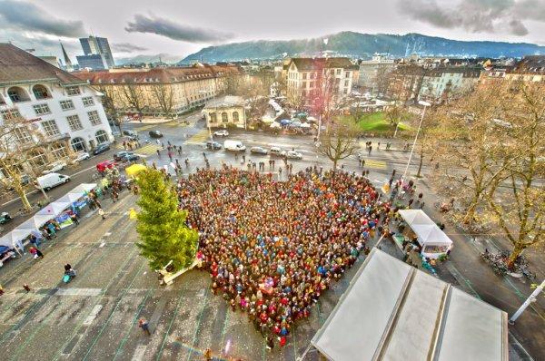 Climate March , Zurich, Switzerland