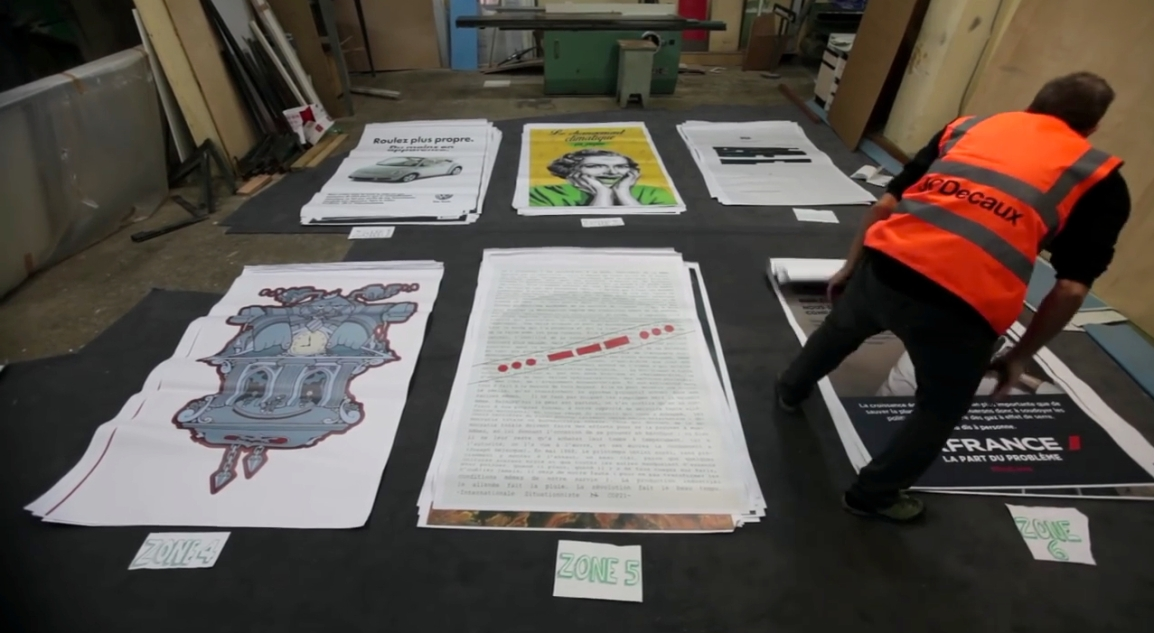 Over 600 Fake Advertising Posters Challenge Corporate Takeover of COP21 ClimateTalks