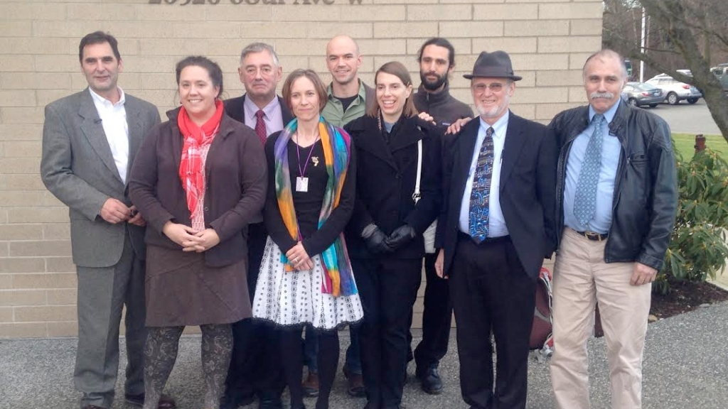 Delta5 and Climate Disobedience Center team
