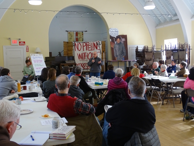 UU meeting to organize against the West Roxbury Lateral Pipeline