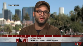 Josh Fox Speaking on Arrest of Journalists