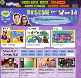 Design Squad website screenshot