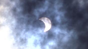 Eclipse from Cambridge, MA